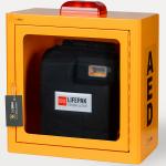 Szafka AED z alarmem duża