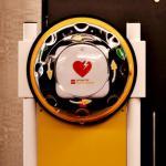Wewnętrzny stojak AED